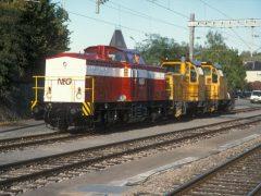 NEG 04 heeft de locjes 210121 en 210122 aan de haak en zal deze naar Duitsland brengen. Deze locjes hebben tijdelijk bij de CFL dienst gedaan.