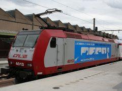 Elk jaar vinden er 's zomers in Wiltz festiviteiten plaats. Om de bezoekers per trein naar de voorstellingen te brengen worden er speciale treinen ingezet. Ook de rijtuigen van de GAR rijden dan mee. Vandaag mag CFL 4013 de rijtuigen naar Wiltz duwen. De loc is voorzien van reclame Luxemburg culturekle hoofdstad 2007.