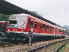 Onverwacht kwam ik de CFL 928 505-7 tegen op het station van Gerolstein in de Duitse Eifel. Enigzins verdwaald of is dit een normale route?